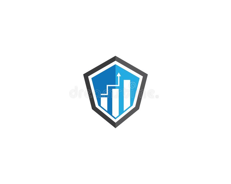 Business vector icon. Business Finance Logo template vector icon illustration, technology, abstract, corporate, account, analyze, arrow, bank, broker, cash vector illustration