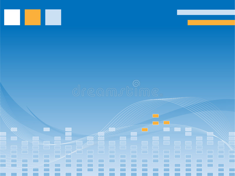 Business vector wavy background stock illustration
