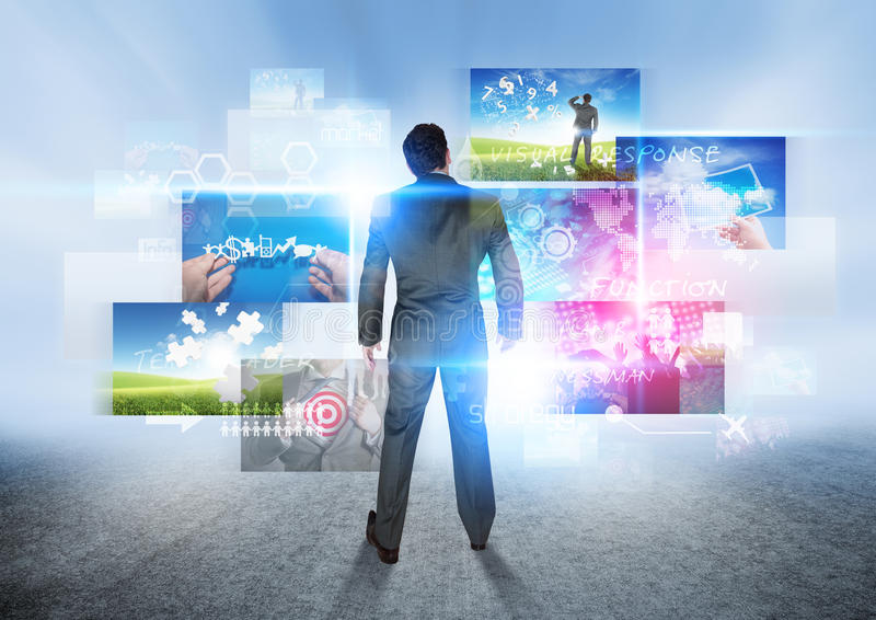 Download Business Vision stock image. Image of information, manage - 27761413