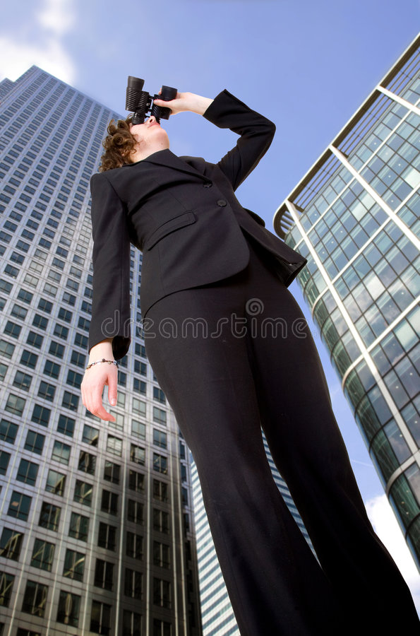 Download Business Vision - Woman In Corporate Environment Stock Image - Image: 1883921