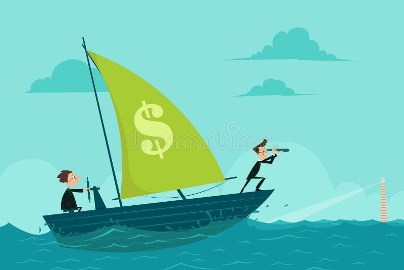 Business Voyage royalty free illustration