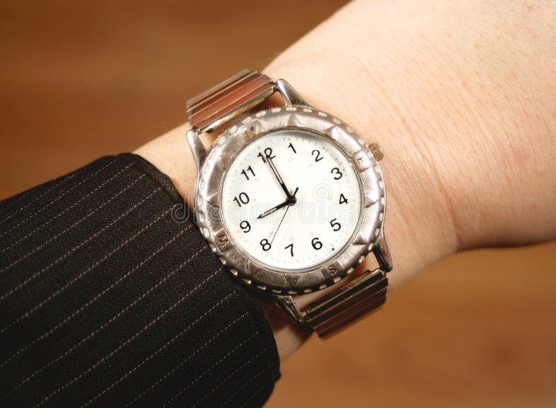 Business watch stock photography