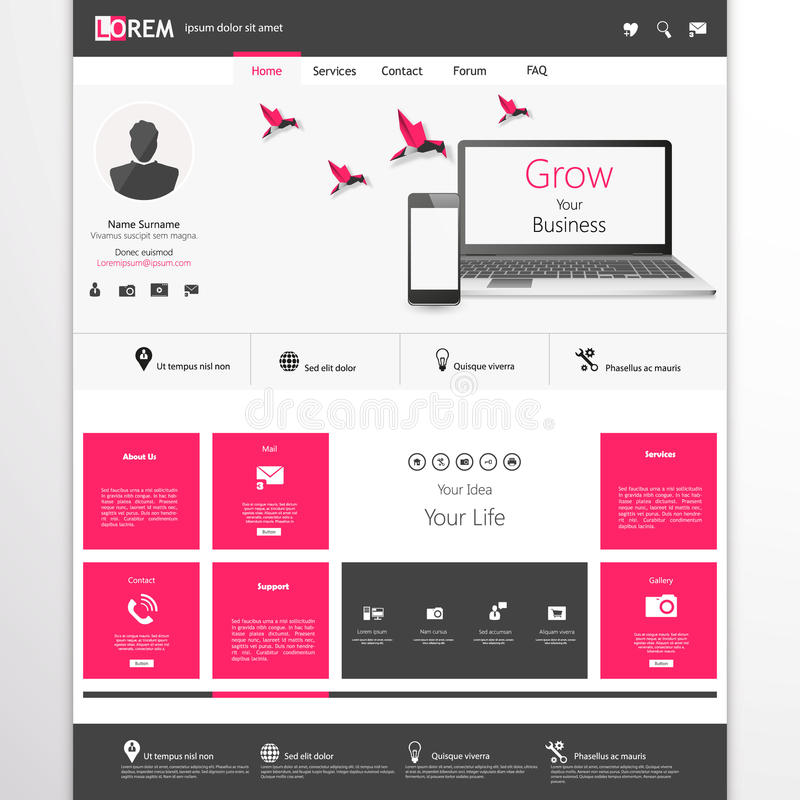 Business website template home page design clean and simple download business website template home page design clean and simple with a space flashek Images
