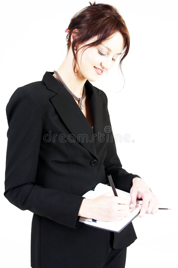 Business woman 1 royalty free stock image
