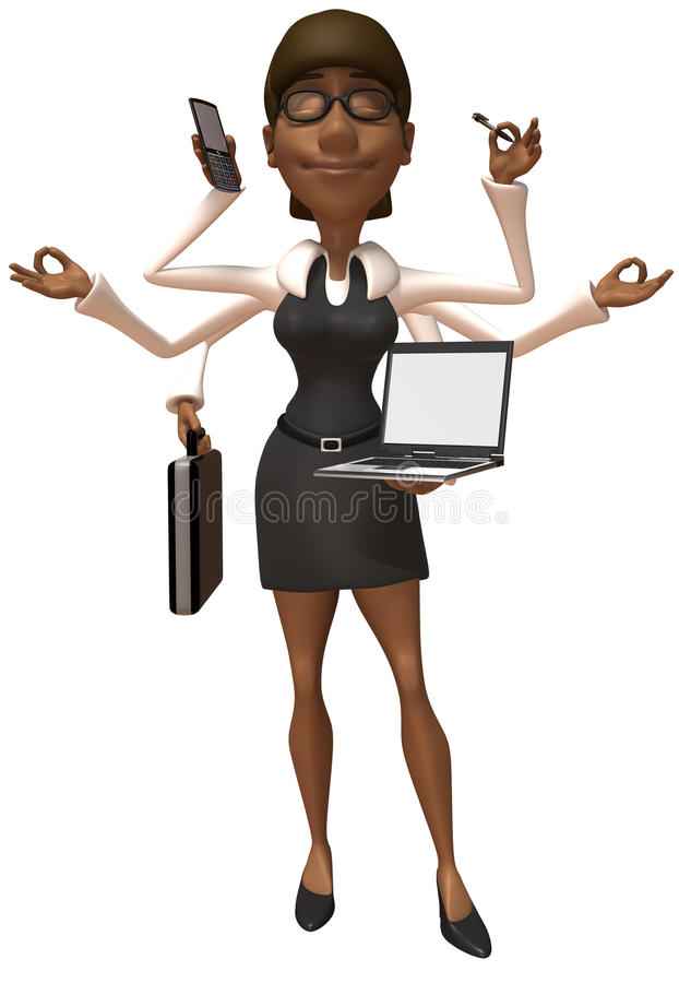 Download Business woman stock illustration. Illustration of girl - 10569758
