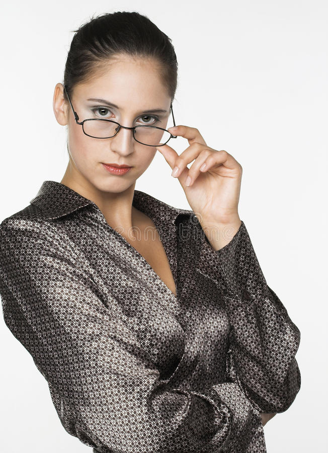 Business-woman royalty free stock photos