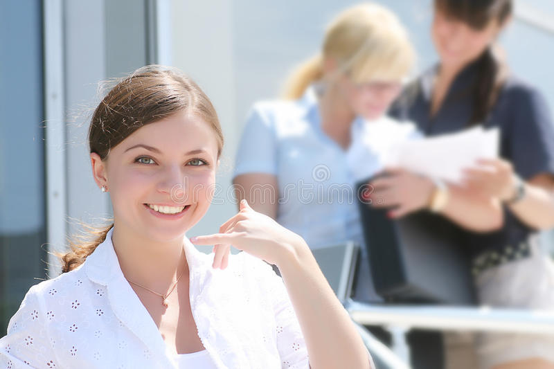 Download Business woman stock image. Image of natural, gesture - 11307267