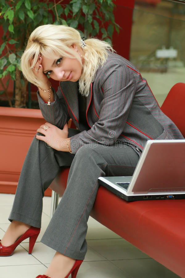 Download Business woman stock image. Image of information, laptop - 11838267