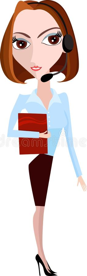 Download Business woman stock vector. Image of contract, advice - 12928609