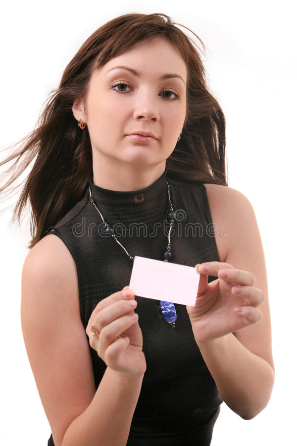 Download Business woman stock photo. Image of white, girl, sight - 13750824