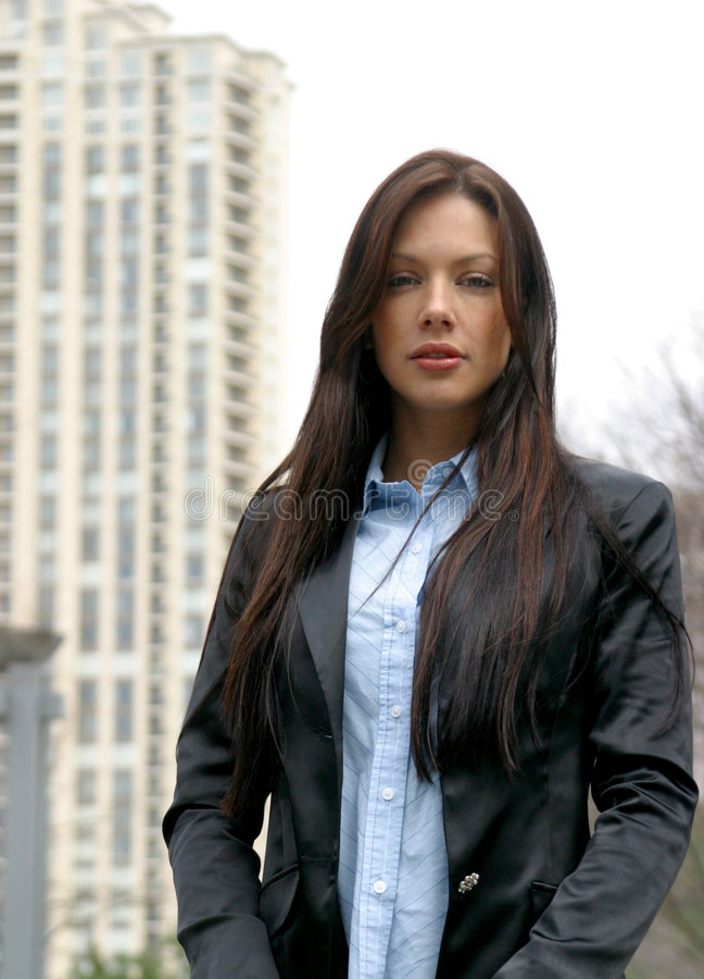 Business Woman. In Atlanta stock photo