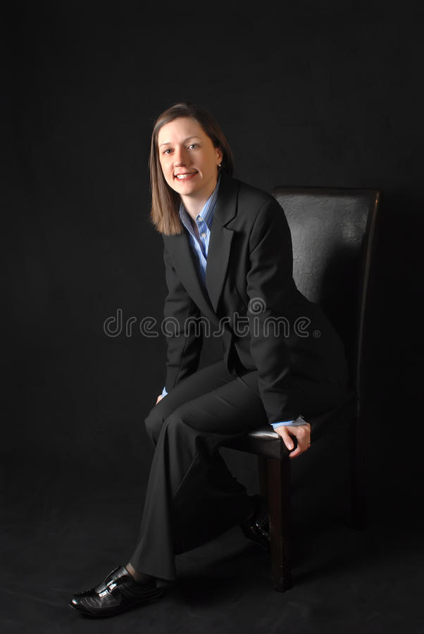 Download Business Woman stock photo. Image of business, black - 19733000