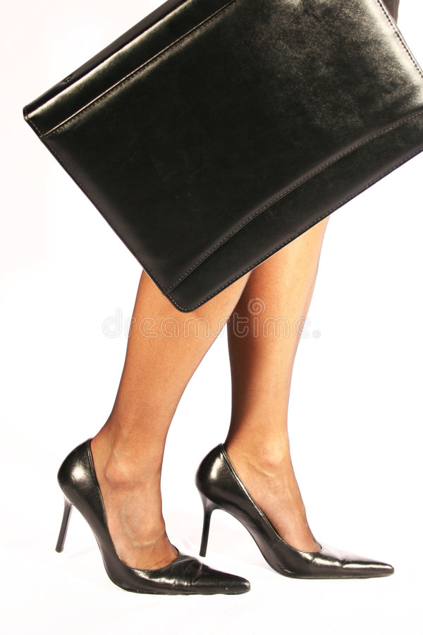Download Business woman stock photo. Image of colleague, legs, case - 1997744