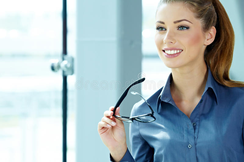 Download Business woman stock photo. Image of folder, executive - 27820938