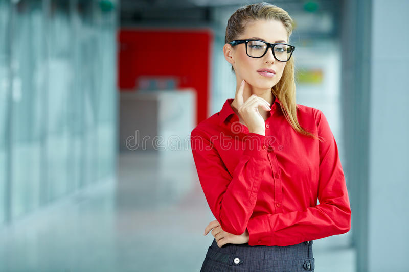 Download Business woman stock image. Image of caucasian, interior - 27820993