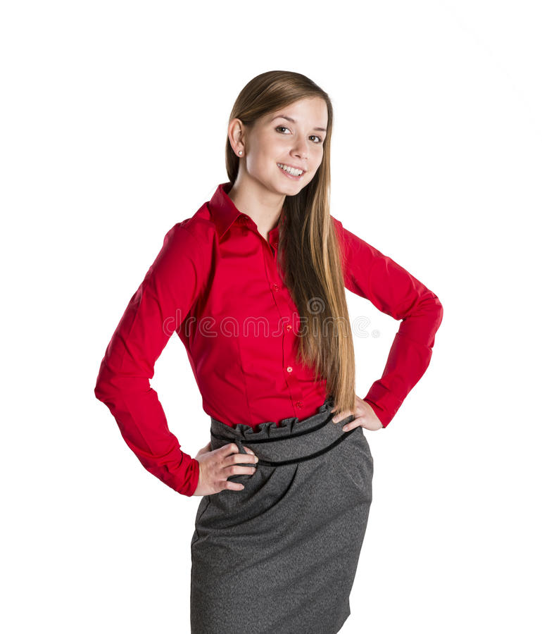 Download Business woman stock image. Image of human, office, pretty - 27917001