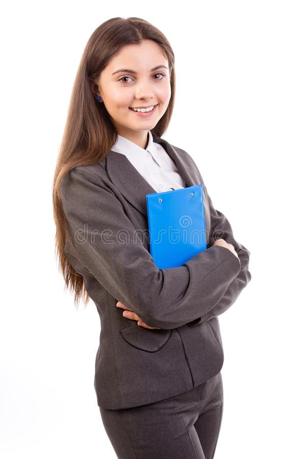 Download Business woman stock image. Image of isolated, person - 28166965