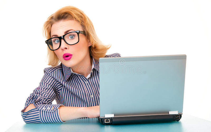 Download Business woman stock photo. Image of businesswoman, internet - 28172176
