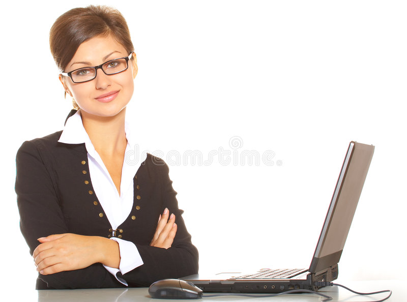 Download Business woman stock image. Image of businessperson, reception - 3833443