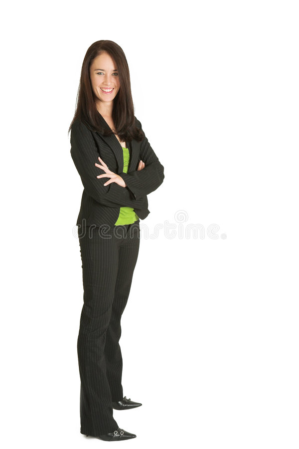 Business Woman #526 royalty free stock image