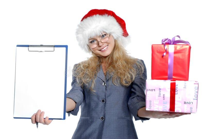 Business-woman imagem de stock royalty free