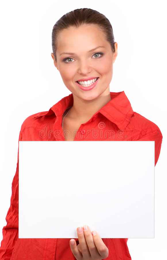 Download Business woman stock image. Image of smiling, isolated - 6871777
