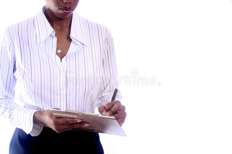 Business Woman. African American Business Woman stock photography