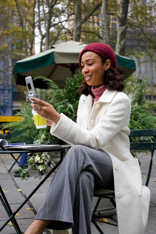 Business Woman In The City stock images