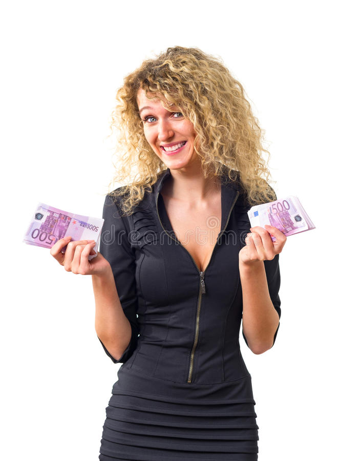 Download Business Woman In Confusion Stock Photo - Image: 26509558
