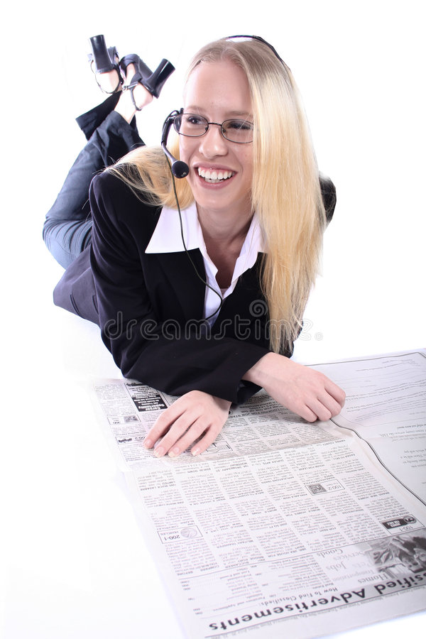 Business Woman - Corporate SpoksewomanBusiness woman - Model Posing for Your Company