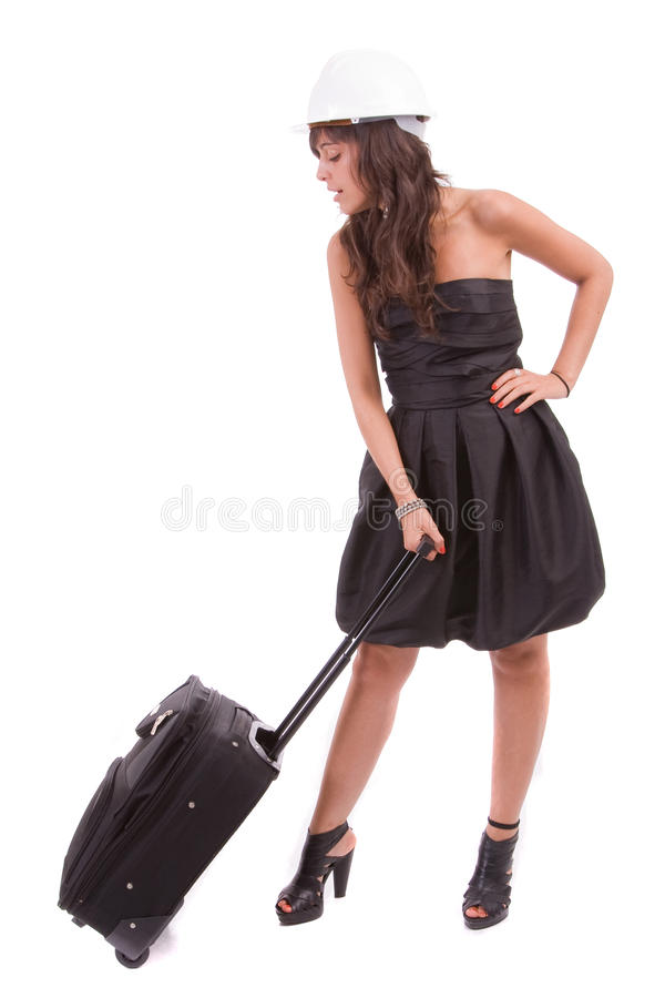 Download Business Woman Going On Vacations Stock Photo - Image: 11121640