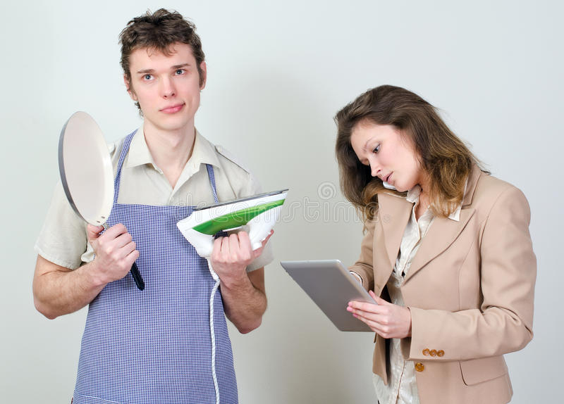 Download Business Woman And Her Husband Stock Photo - Image: 30563156