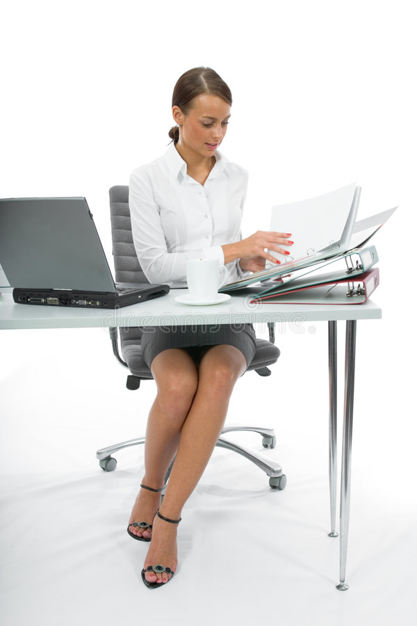 Download Business woman and laptop stock photo. Image of women - 3094668