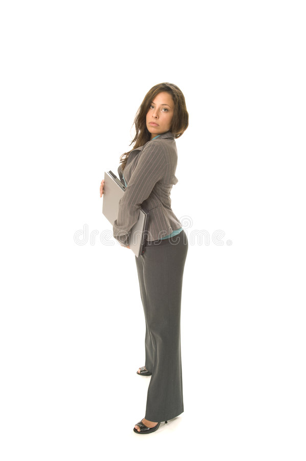 Download Business Woman with laptop stock photo. Image of working - 4026520