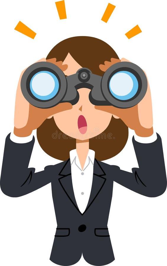 Woman Binoculars Stock Illustrations 1 087 Woman Binoculars Stock Illustrations Vectors Clipart Dreamstime