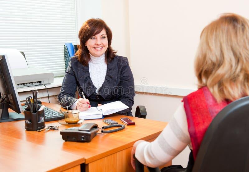 Business woman meets stock photos