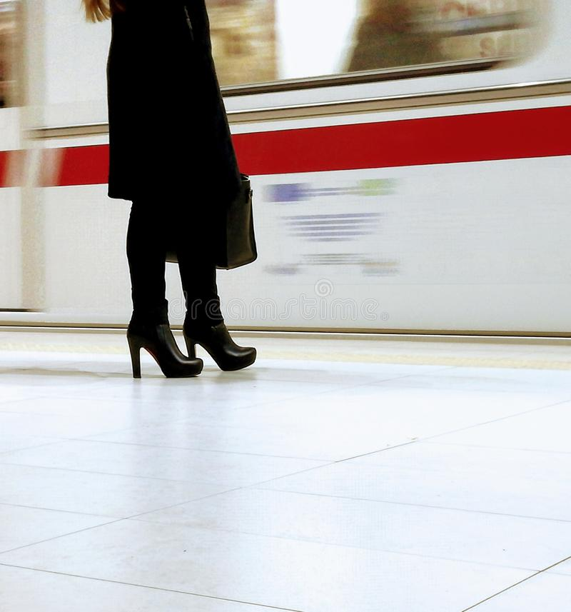 Download Woman stock photo. Image of woman, city, business, metro - 105344916