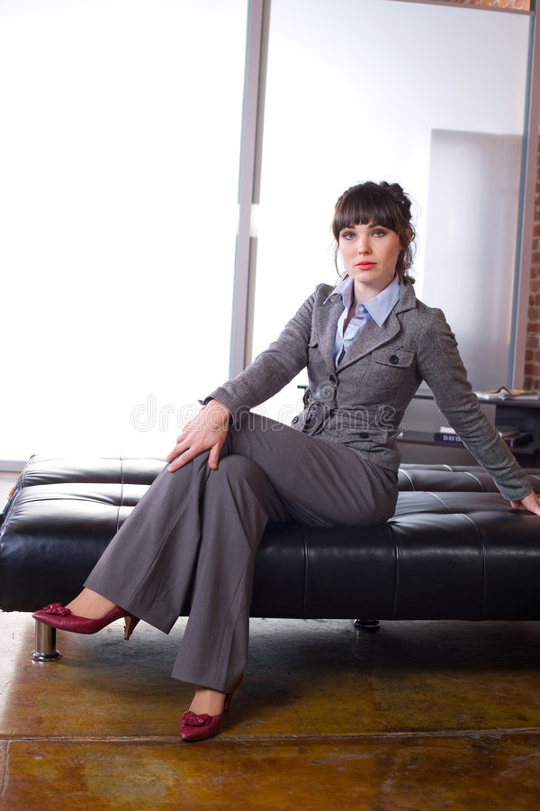 Free Business Woman Modern Office Royalty Free Stock Photography - 8651447