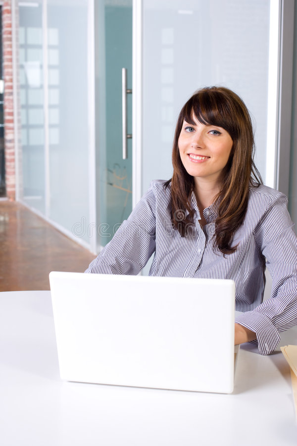Download Business Woman In Modern Office Stock Image - Image: 9255917