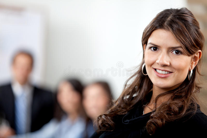 Download Business Woman At The Office Stock Photo - Image: 13297700