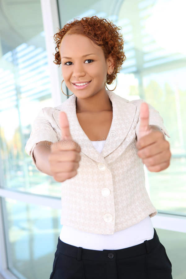 Download Business Woman At Office Building Stock Photo - Image: 6689776