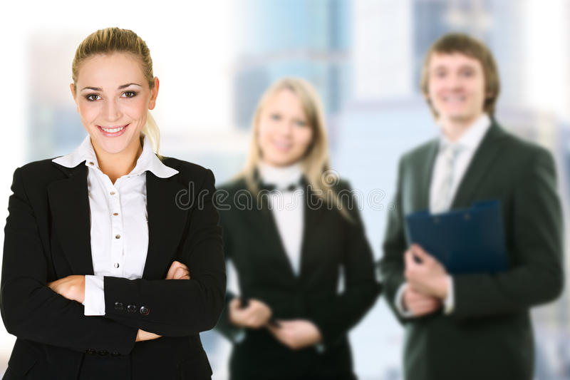Download Business Woman In An Office Environment Stock Photo - Image: 23363644