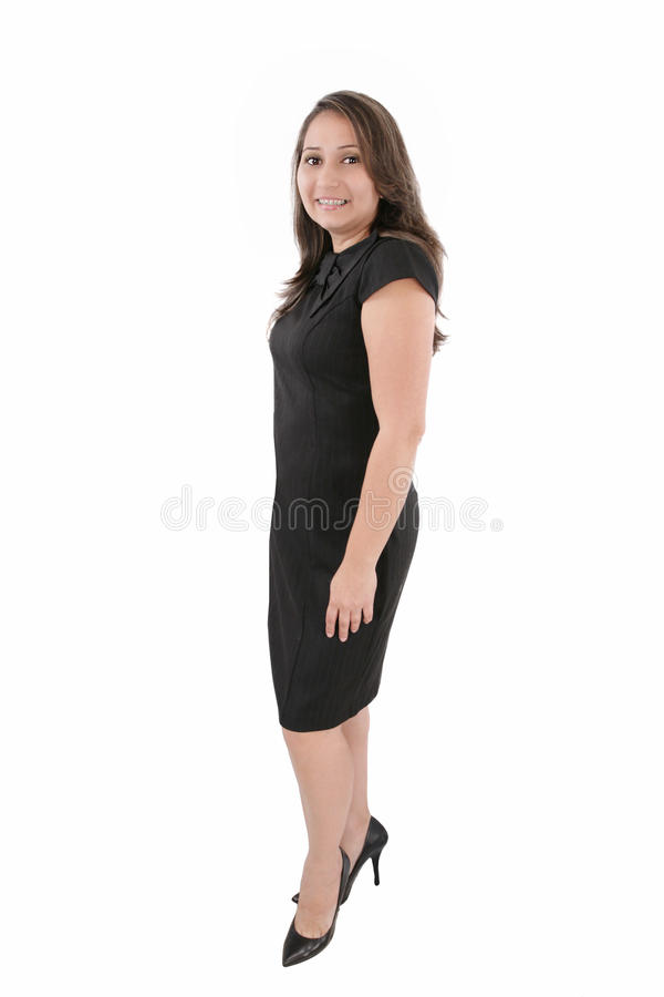 Business woman with orthodontic royalty free stock images