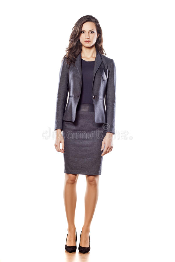 Business woman outfit stock photography