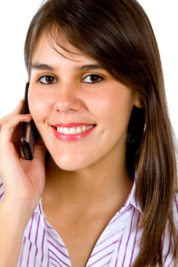 Download Business Woman On The Phone Stock Image - Image: 15726425