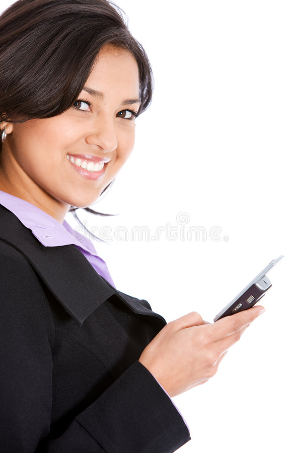 Download Business Woman On The Phone Stock Image - Image: 7116567