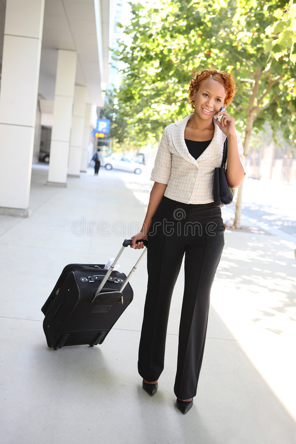 Download Business Woman on Phone stock photo. Image of lady, professional - 8065118