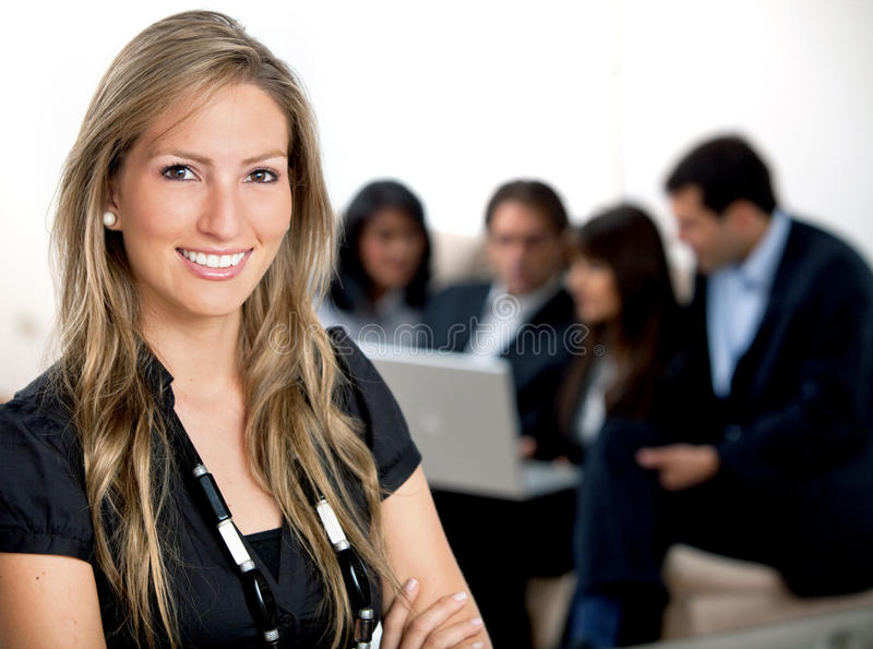 Download Business woman portrait stock photo. Image of business - 11713336