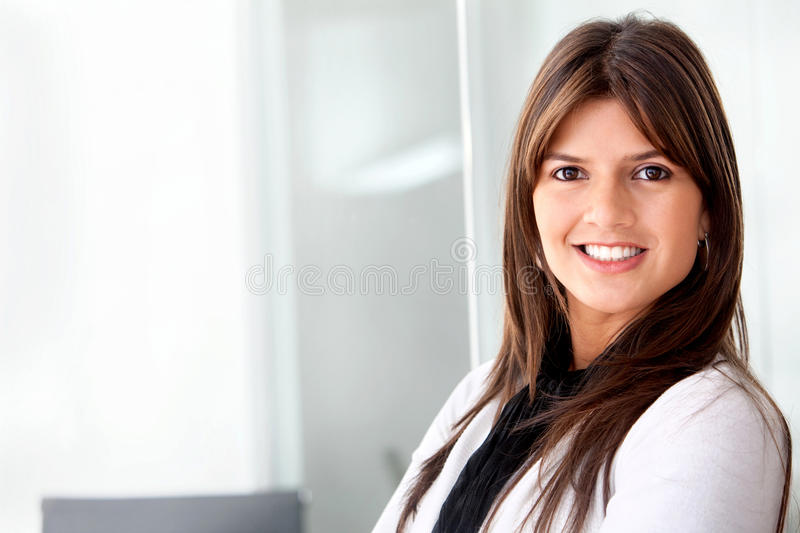 Download Business woman portrait stock image. Image of cute, cheerful - 12915831