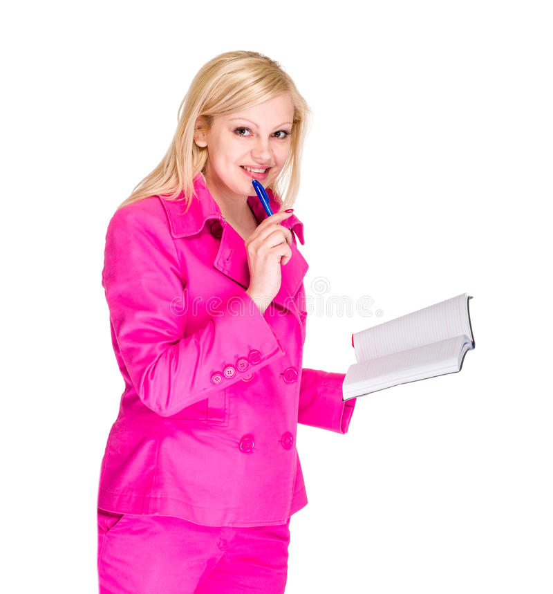 Download Business woman portrait stock image. Image of education - 39504003